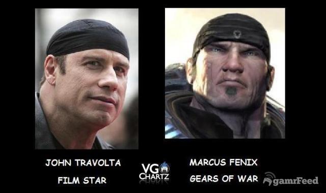 Personagens de videogame semelhantes a celebridades (40 imagens)